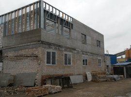 Общий вид каркаса надстроенного этажа