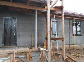 Наружные стены готовы под чистовую отделку