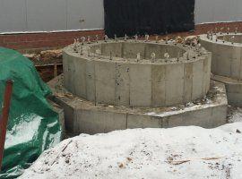 Готовые фундаменты под химическое оборудование