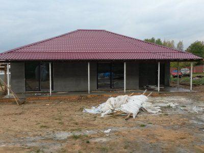 Общий вид каркасного дома